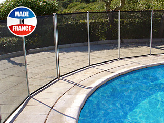 Barriere Beethoven - Barriere piscine demontable Beethoven CLASSIQUE 30mm norme NF P90-306