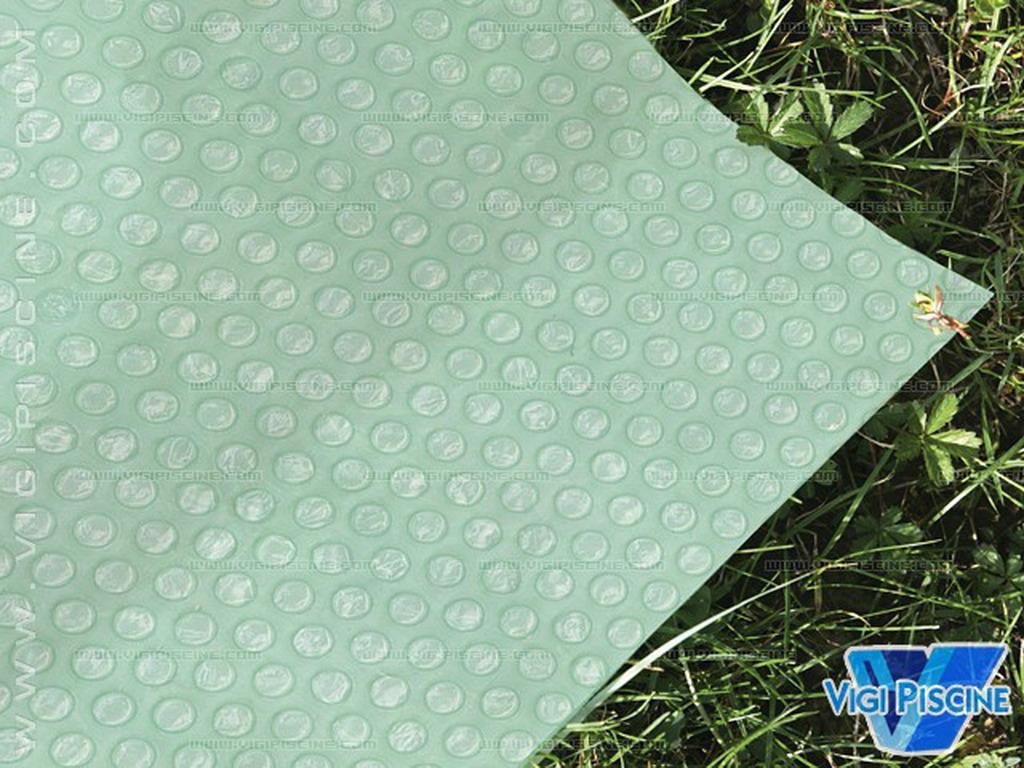 Tapis de sol nylon renforcé MICROBULLES piscine hors-sol ronde Ø 110.10m