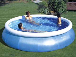 Kit piscine hors sol autoportante magic pool ronde x - Nettoyage filtre a sable piscine ...