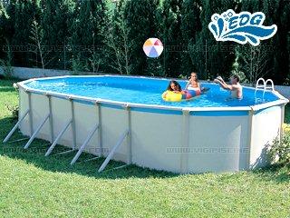 Kit piscine hors sol acier tempo elite xl ovale x 3 for Piscine hors sol 7 30 x 3 70
