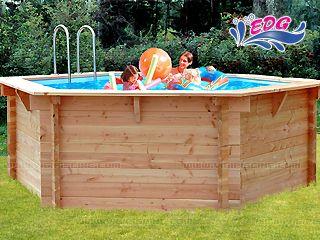 piscine bois ronde 4 m