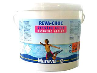 Produit de traitement oxyg ne actif reva choc en poudre - Traitement piscine a l oxygene actif ...