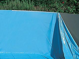 liner uni bleu overlap softpool 20 100eme piscine hors sol. Black Bedroom Furniture Sets. Home Design Ideas