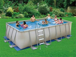 piscine tubulaire en promo