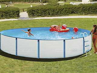 Kit piscine hors sol acier palma ronde x sur for Piscine hors sol 3 66 x 0 99