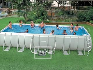 piscine tubulaire 7.32 x 3.66 x 1.32 m