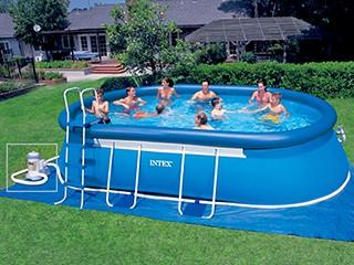 piscine tubulaire ovale 1.22