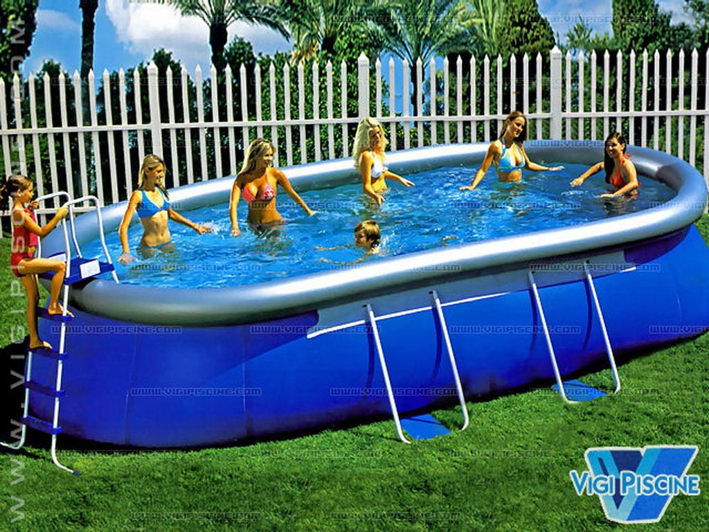 kit piscine hors sol autoportante o 39 blue ellipse luxe. Black Bedroom Furniture Sets. Home Design Ideas