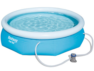 Kit piscine hors-sol autoportante Bestway FAST SET POOL ronde Ø305 x 76cm