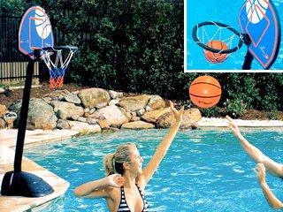 jeu de basket ball r glable pour piscine sur march. Black Bedroom Furniture Sets. Home Design Ideas