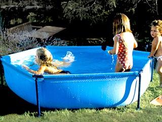 piscine hors sol enfant gr jetpool ronde x sur march. Black Bedroom Furniture Sets. Home Design Ideas