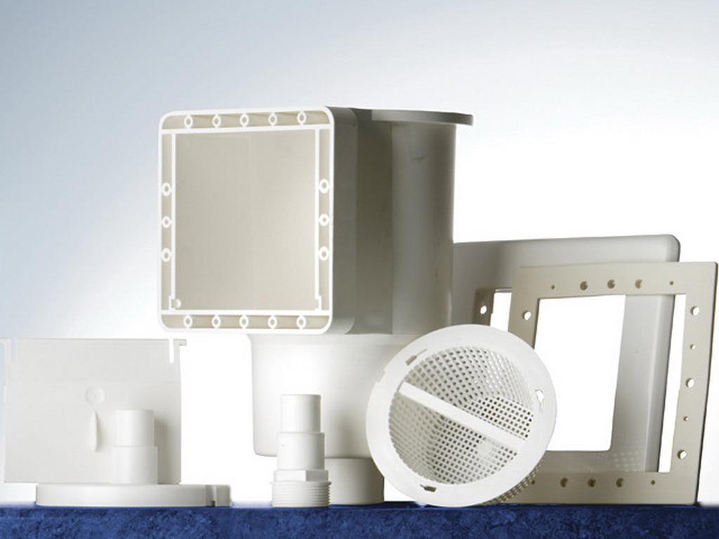 Skimmer standard complet 14 6 cm x 14 1 cm gr ar100 pour for Vanne 6 voies piscine hors sol