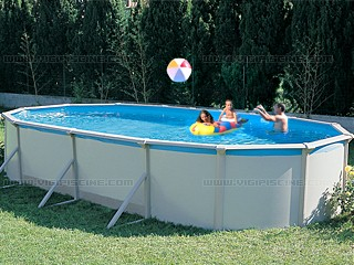 Kit piscine hors sol acier tempo premium ovale x for Piscine hors sol 7 30x3 70