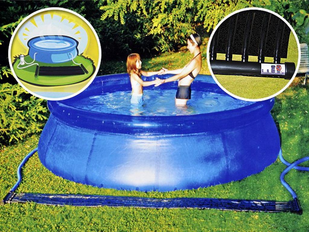 R chauffeur panneau solaire dream pool piscine hors sol for Chauffage piscine dreamland