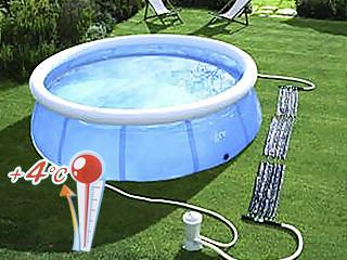 R chauffeur panneau solaire dream pool piscine hors sol for Panneau solaire piscine hors sol