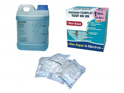 Traitement de l 39 eau mensuel mareva tcm rev aqua pour - Comment recuperer eau trouble piscine ...