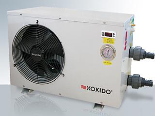 Pompe chaleur kokido ksd titane pour piscine jusqu for Chauffage piscine 6kw