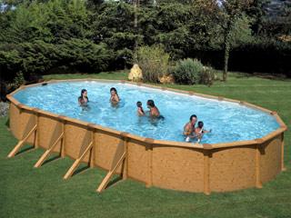 piscine bois 3.66