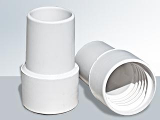 Set de 2 embouts souples luxe flex visser pour tuyau for Tuyau piscine 38mm