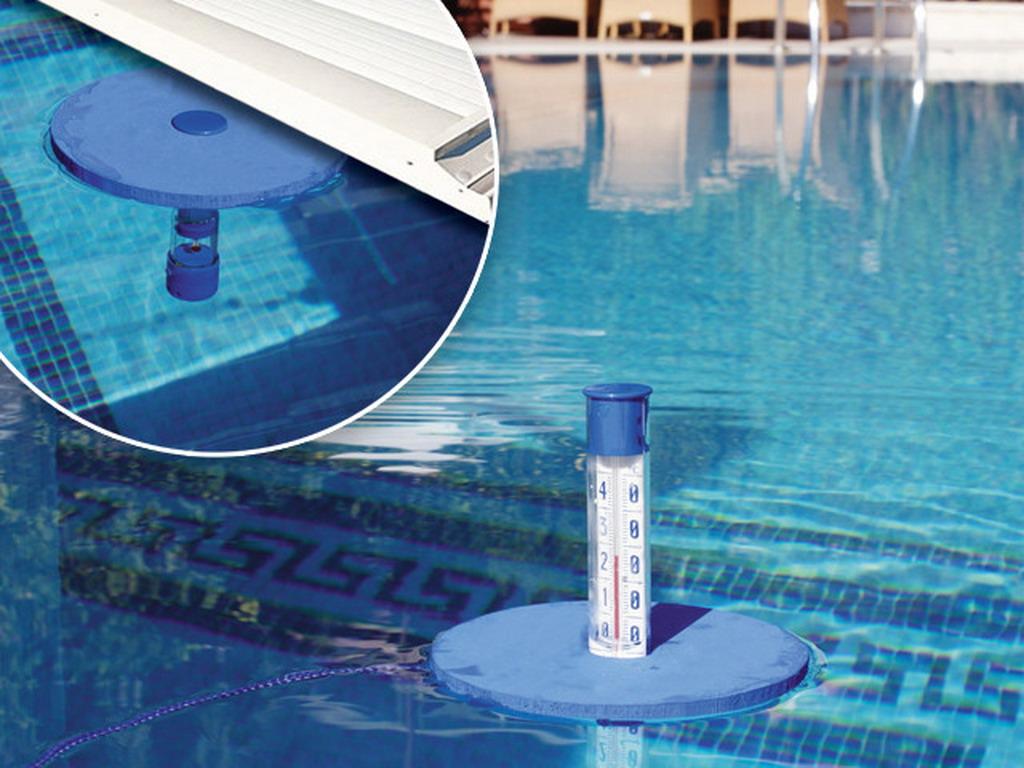 Thermometre Piscine Original kerlis thermomètre flottant vision piscine avec couverture 14013