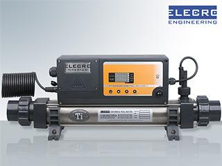 R chauffeur elecro inline plus titane 12kw tri piscine for Rechauffeur electrique nano 3kw pour piscine hors sol