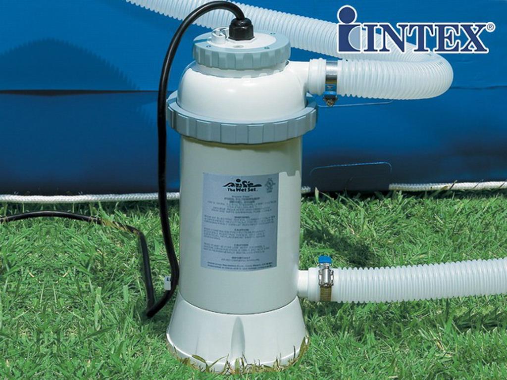 R chauffeur lectrique intex heater 3kw pour piscine hors for Chauffage piscine intex