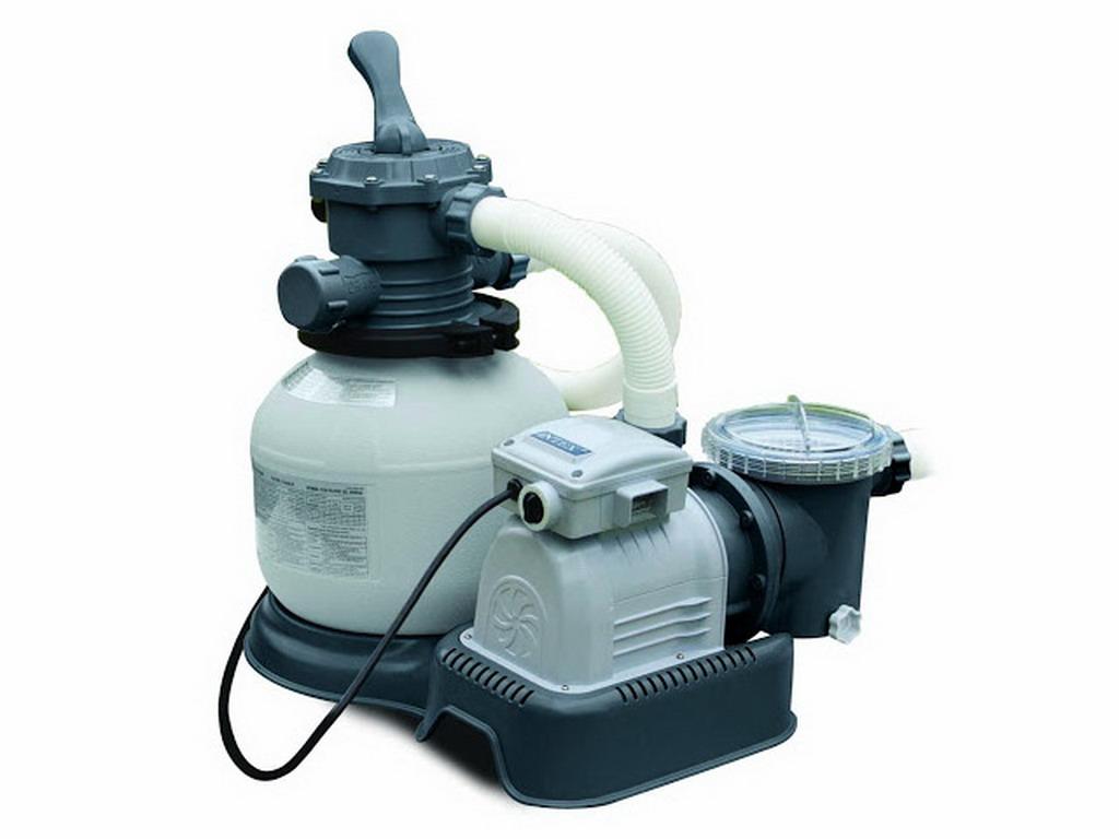 Groupe de filtration intex pur d bit 6m h puissance 0 for Puissance chauffage piscine