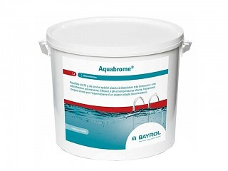 Produit de traitement au brome AQUABROME TABLETS Bayrol seau 5kg