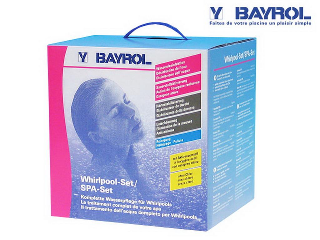 Coffret De Traitement Complet Spa Set Bayrol 5 Produits Boite 4kg