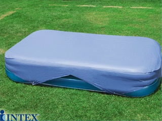 Couverture de protection intex cover 305 x 183cm pour for Chauffage piscine hors sol intex