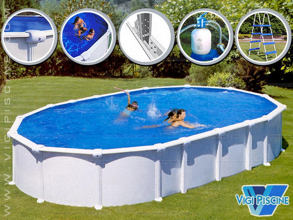kit piscine acier starpool premium ovale 6 1 x 3 8 x. Black Bedroom Furniture Sets. Home Design Ideas