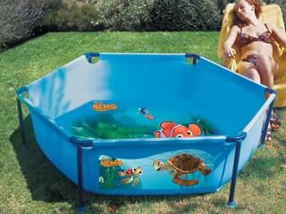 piscine hors sol enfant jet pool n mo ronde x. Black Bedroom Furniture Sets. Home Design Ideas