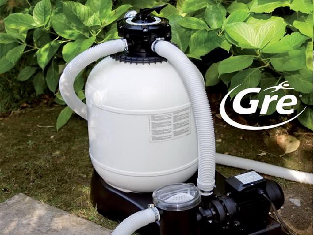 Gré Pools   Groupe De Filtration GRE 4m³/h Avec Préfiltre Piscine Hors Sol