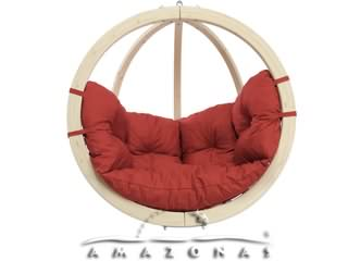 Balancelle Amazonas GLOBO KIDS CHAIR RED 94,5 x 94 x 50cm coloris rouge