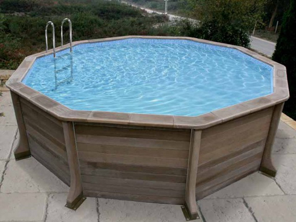 Kit piscine b ton naturalis decagonale x for Piscine kit beton