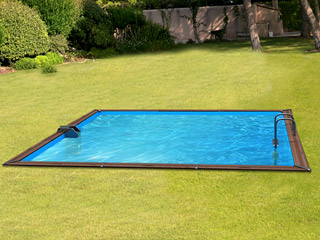 Water Clip - Kit piscine bois Water Clip PLATINUM carree 518 x 518 x 147cm