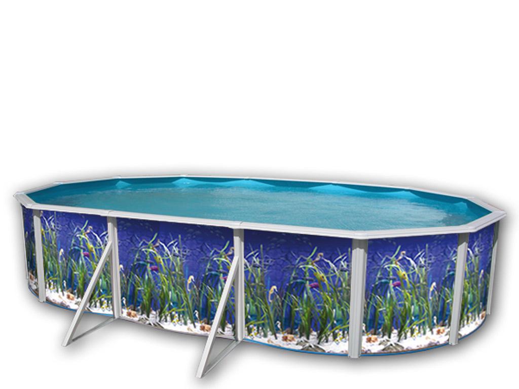 Kit piscine hors sol acier toi oceano ovale x x for Piscine hors sol 3 66 x 1 22