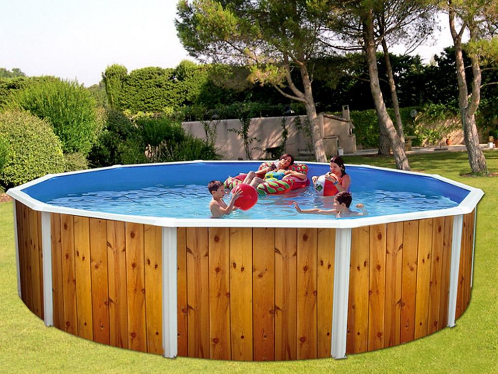 piscine hors sol ronde Millau
