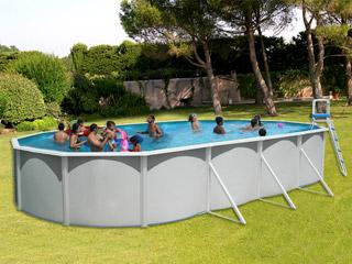 Kit piscine hors sol acier toi magnum ovalada pack ovale 7 for Piscine hors sol 7 30 x 3 70