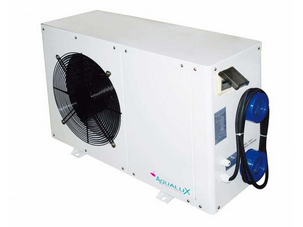 Pompe chaleur aqualux 80 mono 8 0kw pour piscine jusqu 39 for Quelle pompe a chaleur pour piscine
