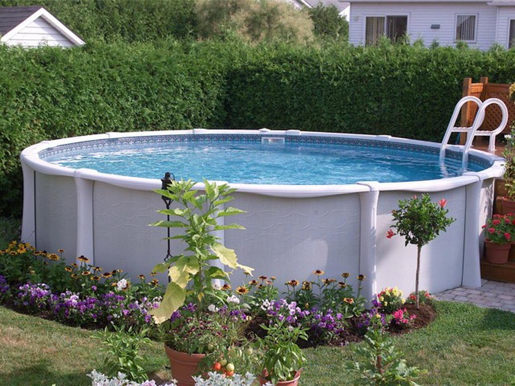 Kit piscine hors sol r sine vogue summum ronde x sur march - Piscine resine hors sol ...