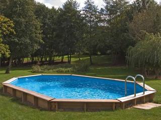 Kit piscine bois sunbay las aves ovale x x sur march - Piscine bois classe 5 ...