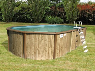 kit piscine hors sol acier et r sine sunbay freedom ovale. Black Bedroom Furniture Sets. Home Design Ideas