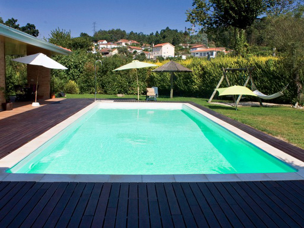 Piscine enterr e acier sunkit rectangulaire fond plat 10 for Kit piscine a debordement