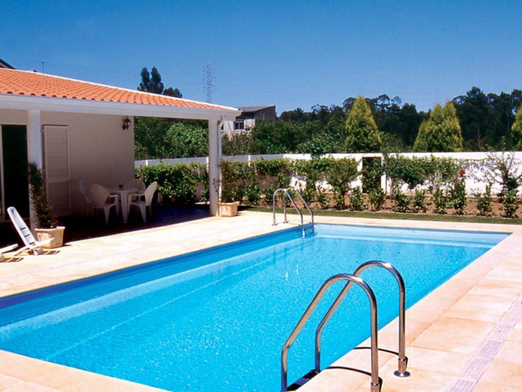 piscine enterr e acier sunkit rectangulaire fond compos x x liner bleu p le. Black Bedroom Furniture Sets. Home Design Ideas