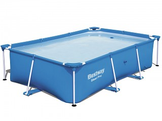 Piscine hors-sol tubulaire Bestway DELUXE SPLASH FRAME POOL rectangulaire 2,59 x 1,70 x 0,61m