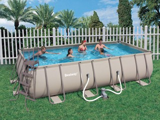Piscine hors sol tubulaire bestway steel pro super deluxe for Piscine hors sol tubulaire rectangulaire bestway