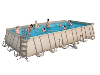 Piscine hors sol tubulaire bestway steel pro super deluxe for Piscine bestway 3 66
