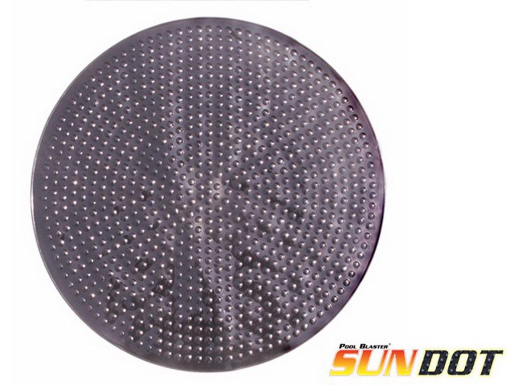 Disque de chauffage solaire pool blaster sun dot pour for Chauffage pour piscine hors sol