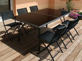 Stunning Grande Table De Jardin Avec Rallonge Pictures - Design ...